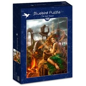 """Bluebird Puzzle (70429) - Cris Ortega: """"The last Stand"""" - 1500 pieces puzzle"""