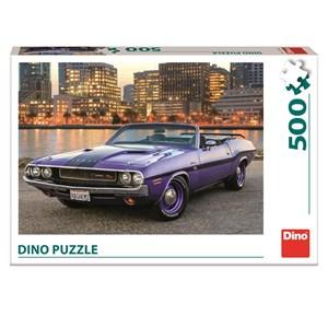 "Dino (50252) - ""Dodge Cars"" - 500 pieces puzzle"