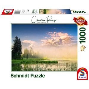 "Schmidt Spiele (59696) - Christian Ringer: ""Taubensee"" - 1000 pieces puzzle"