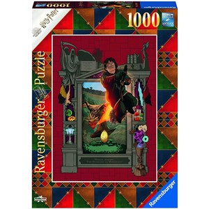 "Ravensburger (16518) - ""Harry Potter and the Trimagical Tournament"" - 1000 pieces puzzle"