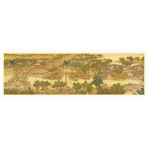 """Pintoo (h1906) - """"Bears Along The River During The Qingming Festival"""" - 2000 pieces puzzle"""