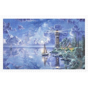 "Pintoo (h2017) - Abraham Hunter: ""Light of Peace"" - 1000 pieces puzzle"