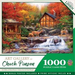 "MasterPieces (72010) - Chuck Pinson: ""Colors of Life"" - 1000 pieces puzzle"