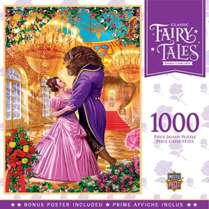 """MasterPieces (72017) - """"Beauty and the Beast"""" - 1000 pieces puzzle"""