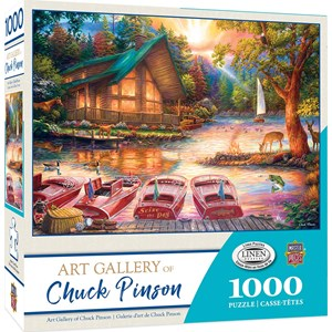 """MasterPieces (71905) - Chuck Pinson: """"Seize the Day"""" - 1000 pieces puzzle"""