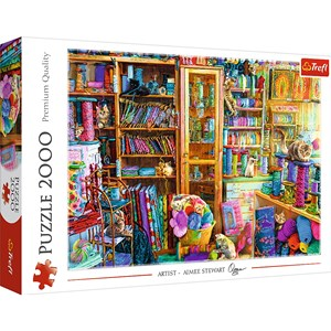 "Trefl (27113) - ""Cat Paradise"" - 2000 pieces puzzle"
