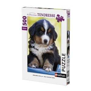 """Nathan (87147) - """"Cute Puppy"""" - 500 pieces puzzle"""