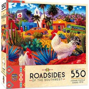 "MasterPieces (31936) - ""Gallo's Blancos"" - 550 pieces puzzle"