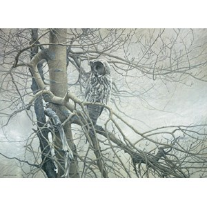 "Cobble Hill (51769) - Robert Bateman: ""Ghost of the North"" - 1000 pieces puzzle"