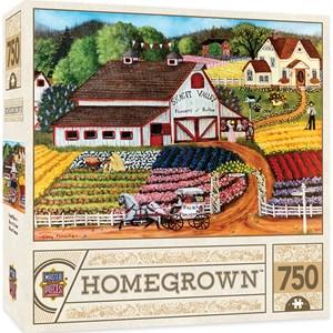 """MasterPieces (31801) - Cindy Mangutz: """"Fresh Flowers"""" - 750 pieces puzzle"""