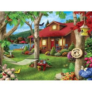 "MasterPieces (31574) - Alan Giana: ""Lakeside Retreat"" - 750 pieces puzzle"