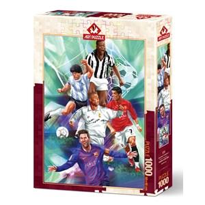 """Art Puzzle (5194) - """"Legendary Footballers"""" - 1000 pieces puzzle"""