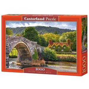 "Castorland (C-104673) - ""Village Corne in Wales"" - 1000 pieces puzzle"