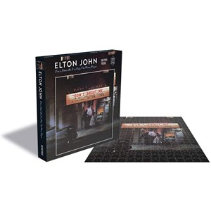 "Zee Puzzle (25151) - ""Elton John, Dont Shoot me I'm Only the Piano Player"" - 500 pieces puzzle"