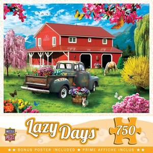 "MasterPieces (32054) - ""A Farm's Alive"" - 750 pieces puzzle"