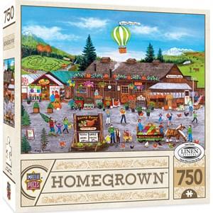"MasterPieces (31985) - Cindy Mangutz: ""Sunny Farms"" - 750 pieces puzzle"