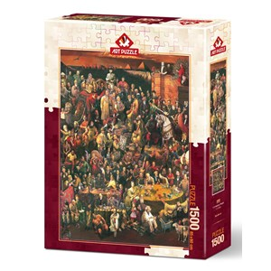 """Art Puzzle (4000) - """"113 Famous People"""" - 1500 pieces puzzle"""