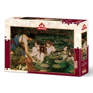 """Art Puzzle (5377) - """"Hylas And The Nymphs, 1896"""" - 1500 pieces puzzle"""