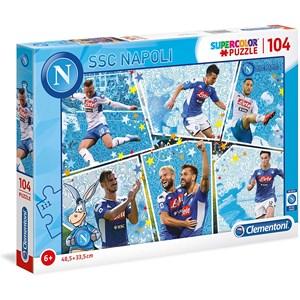"""Clementoni (27138) - """"SSC Napoli"""" - 104 pieces puzzle"""