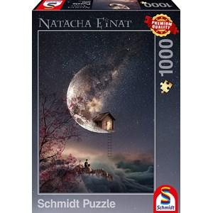 """Schmidt Spiele (59904) - Natacha Einat: """"Dream Whisper"""" - 1000 pieces puzzle"""