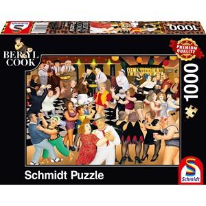 "Schmidt Spiele (59686) - Beryl Cook: ""Party Night"" - 1000 pieces puzzle"
