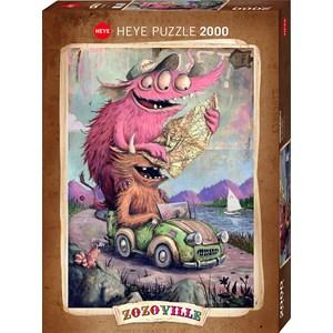 "Heye (29938) - ""Zozoville"" - 2000 pieces puzzle"