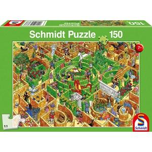 """Schmidt Spiele (56367) - """"Labyrinth"""" - 150 pieces puzzle"""