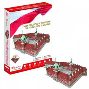 """Cubic Fun (mc268h) - """"The Royal Castle in Warsaw"""" - 105 pieces puzzle"""