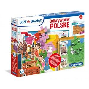 """Clementoni (50021) - """"Poland Map"""" - 104 pieces puzzle"""