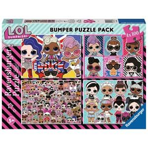 """Ravensburger (12880) - """"LOL Surprise"""" - 100 pieces puzzle"""