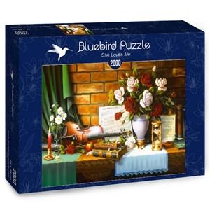 "Bluebird Puzzle (70078) - ""She Loves Me"" - 2000 pieces puzzle"