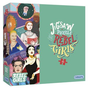 """Gibsons (G2221) - """"Rebel Girls"""" - 100 pieces puzzle"""