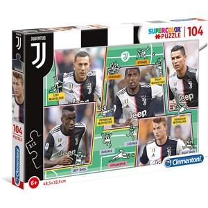 """Clementoni (27131) - """"Puzzle Juventus"""" - 104 pieces puzzle"""