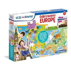 """Clementoni (50020) - """"Europe Map"""" - 104 pieces puzzle"""