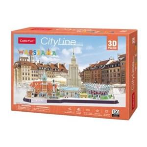 """Cubic Fun (mc271h) - """"Cityline Warsaw"""" - 159 pieces puzzle"""