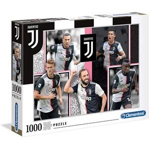 """Clementoni (39531) - """"Juventus"""" - 1000 pieces puzzle"""
