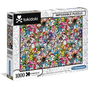 """Clementoni (39555) - """"Tokidoki"""" - 1000 pieces puzzle"""