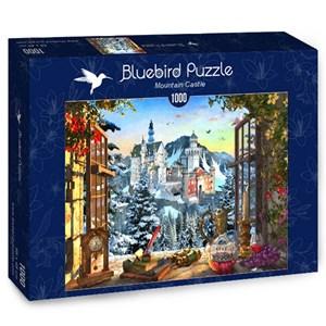 """Bluebird Puzzle (70122) - """"Mountain Castle"""" - 1000 pieces puzzle"""