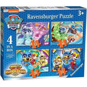 """Ravensburger (03029) - """"Paw Patrol"""" - 12 16 20 24 pieces puzzle"""