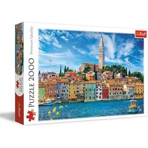 "Trefl (27114) - ""Rovinj, Croatia"" - 2000 pieces puzzle"