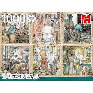 "Jumbo (18817) - Anton Pieck: ""Craftmanship"" - 1000 pieces puzzle"