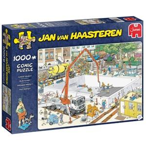 """Jumbo (20037) - Jan van Haasteren: """"Almost Ready?"""" - 1000 pieces puzzle"""
