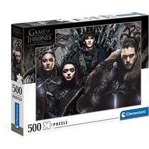 "Clementoni (35091) - ""Game of Thrones"" - 500 pieces puzzle"
