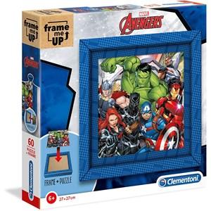 """Clementoni (38801) - """"Marvel Avengers"""" - 60 pieces puzzle"""