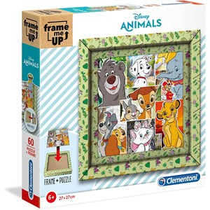 "Clementoni (38804) - ""Disney Animals"" - 60 pieces puzzle"