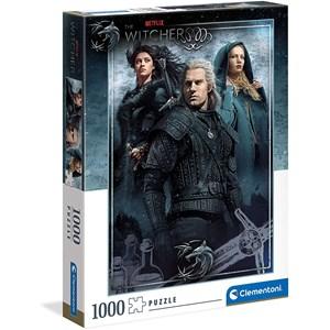 """Clementoni (39592) - """"The Witcher"""" - 1000 pieces puzzle"""