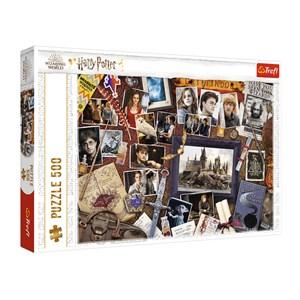 "Trefl (37400) - ""Harry Potter"" - 500 pieces puzzle"