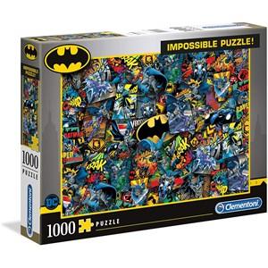 """Clementoni (39575) - """"Batman"""" - 1000 pieces puzzle"""