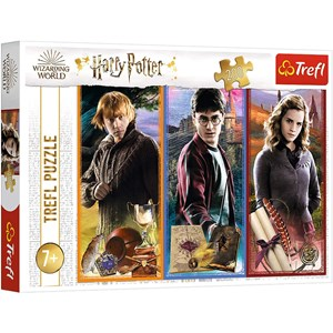 "Trefl (13277) - ""Harry Potter"" - 200 pieces puzzle"