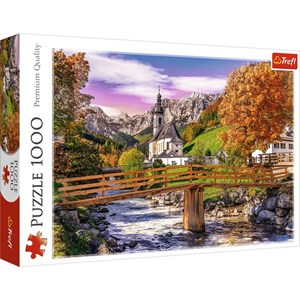 "Trefl (10623) - ""Bayern, Fall"" - 1000 pieces puzzle"